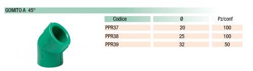 Tubi e raccordi in PP-R
