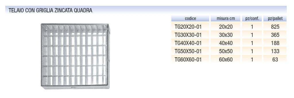 telaio-con-griglia-zincata-quadra